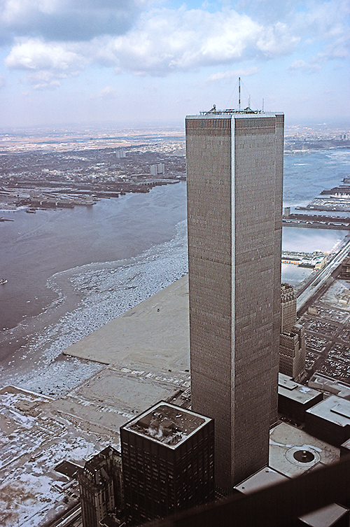 World Trade Center from the air