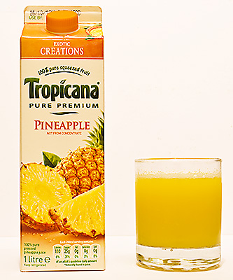 Pineapple Juice called Mohammed