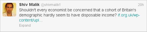 Shiv Malik tweet
